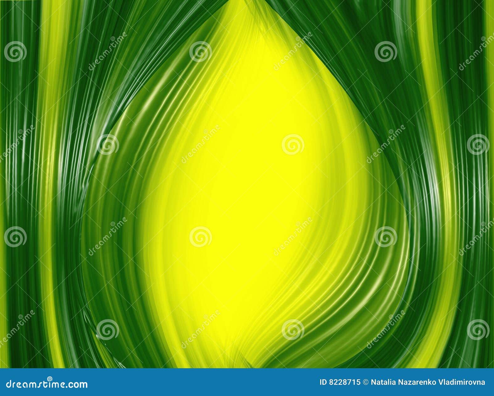 Fundo verde abstrato