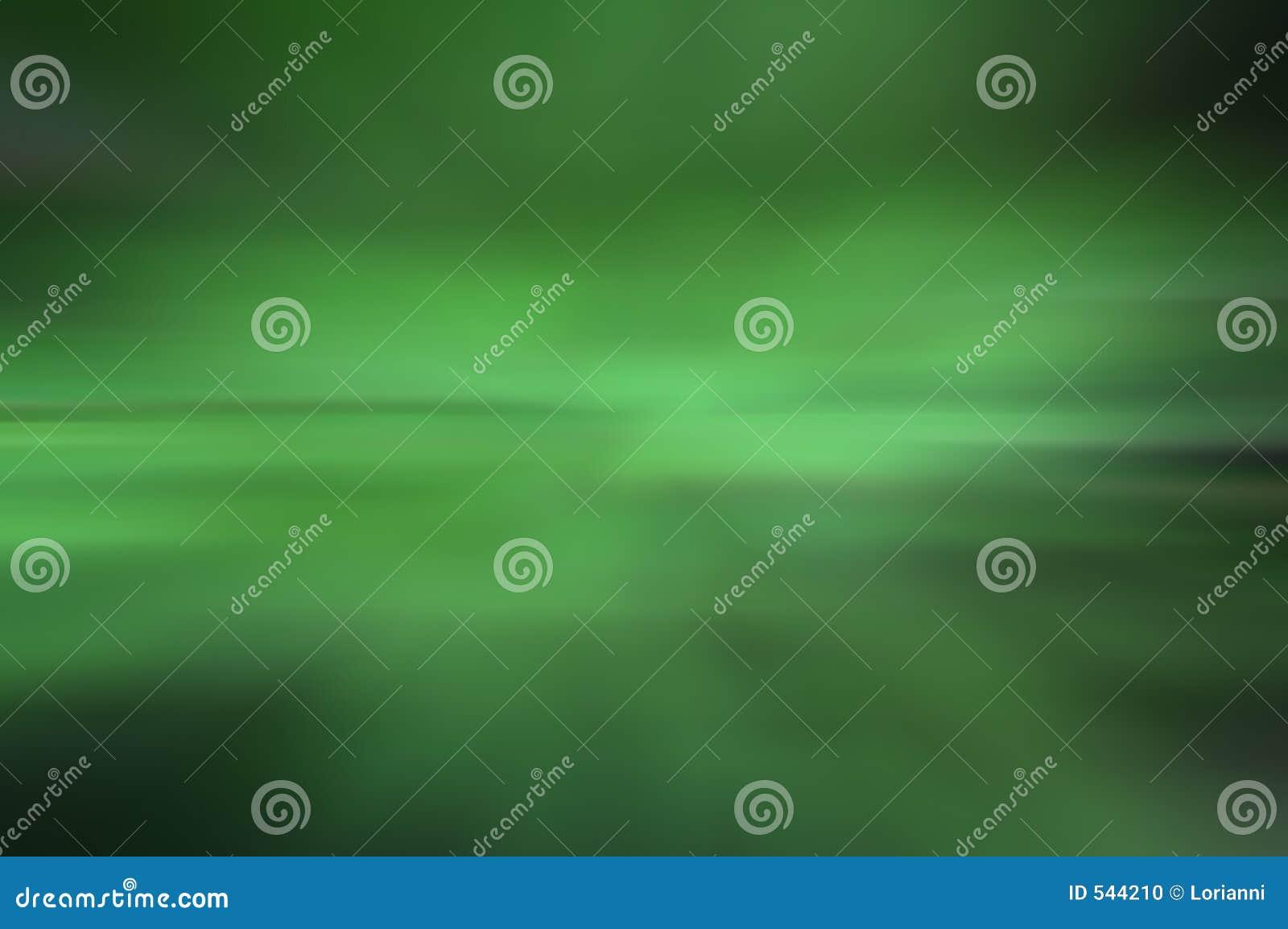 Fundo verde borrado