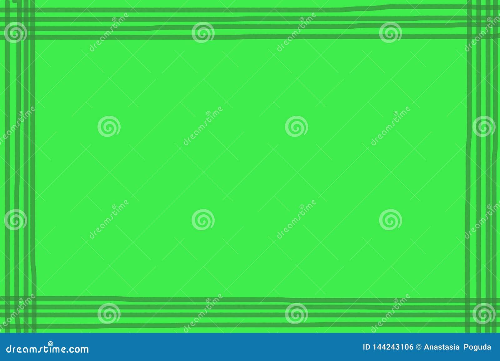 Fundo verde com linhas escuras