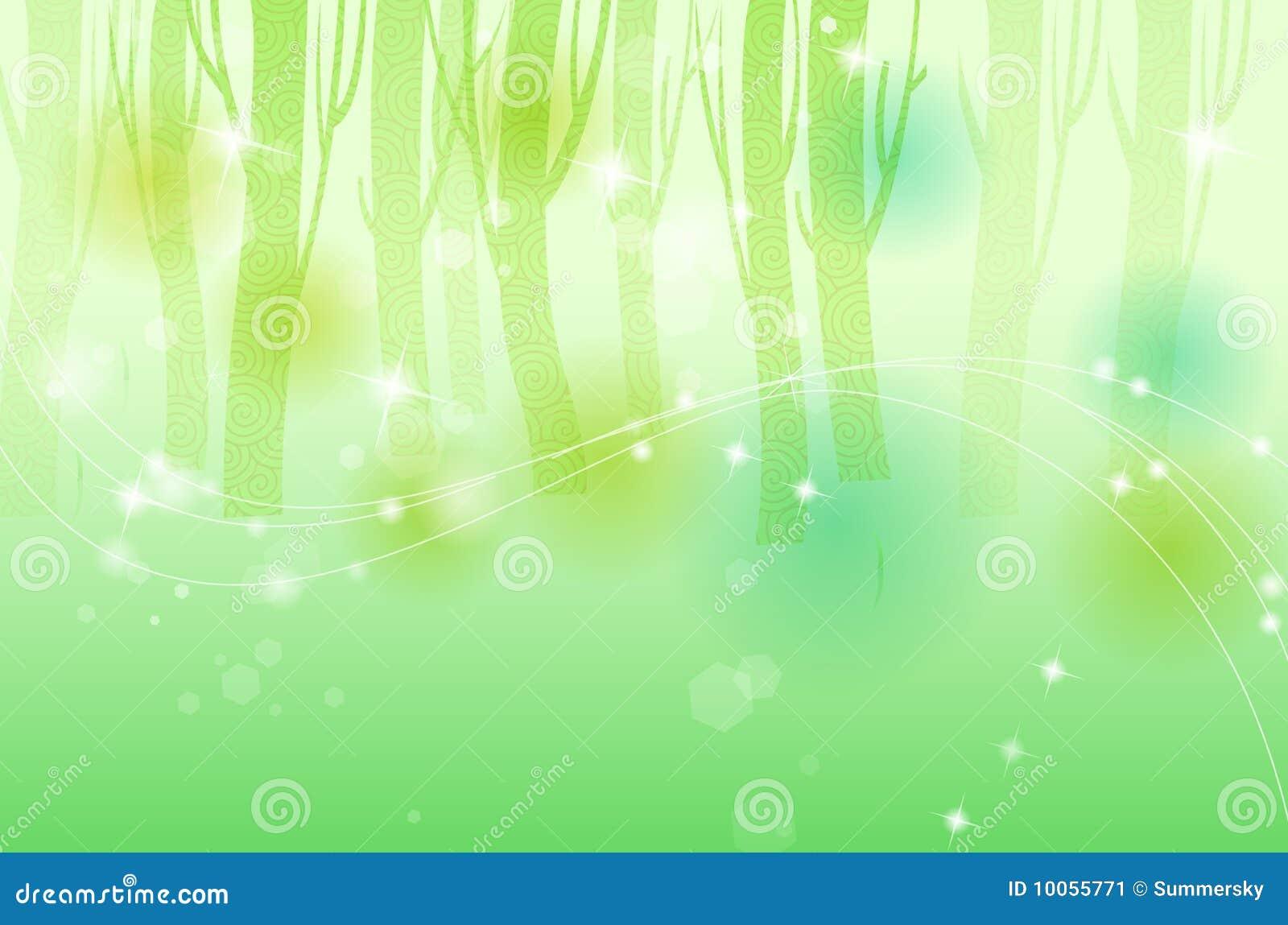 Fundo verde da árvore