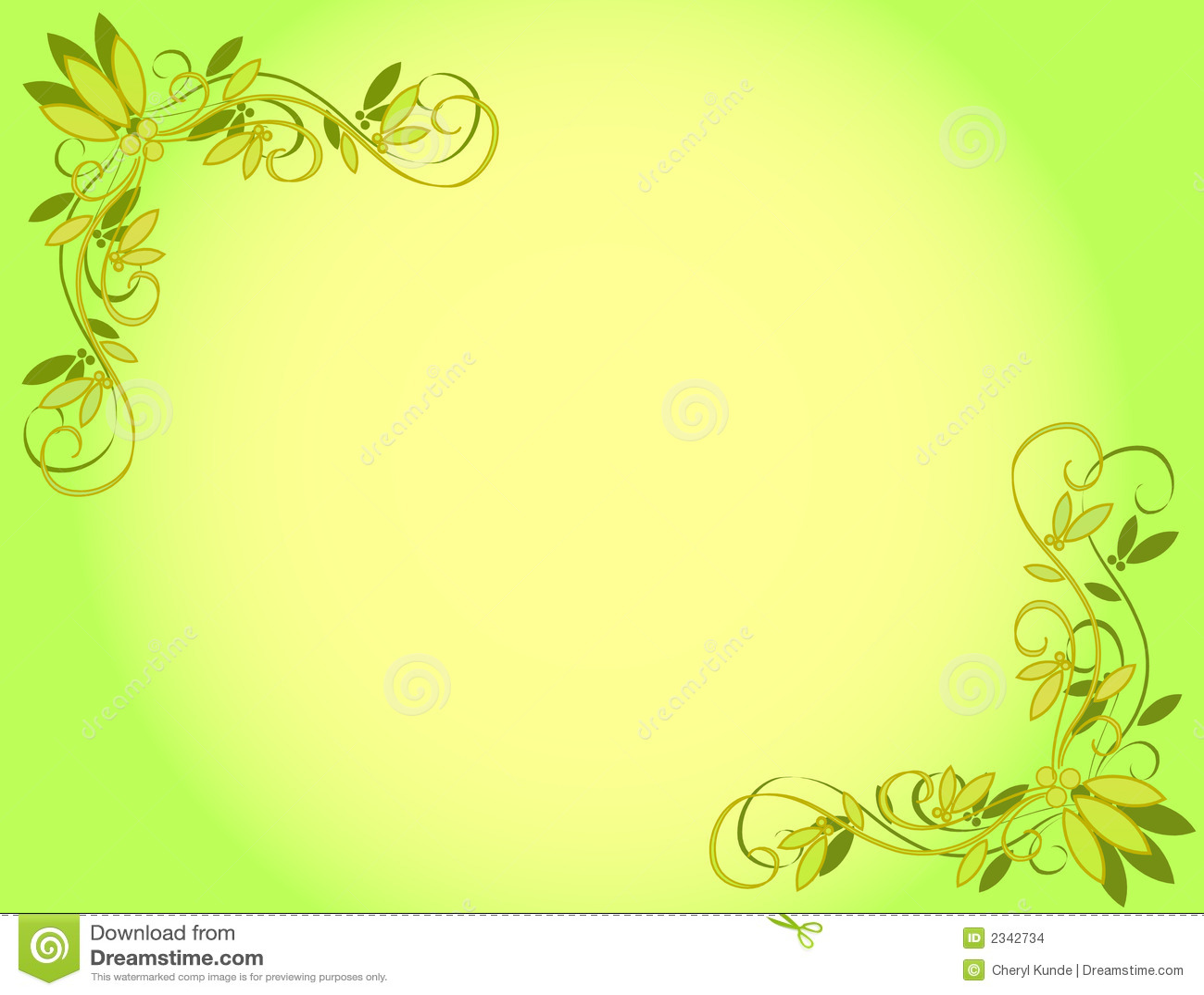 Cool Frame Designs Fundo Verde Da Flor Imagens De Stock Imagem 2342734