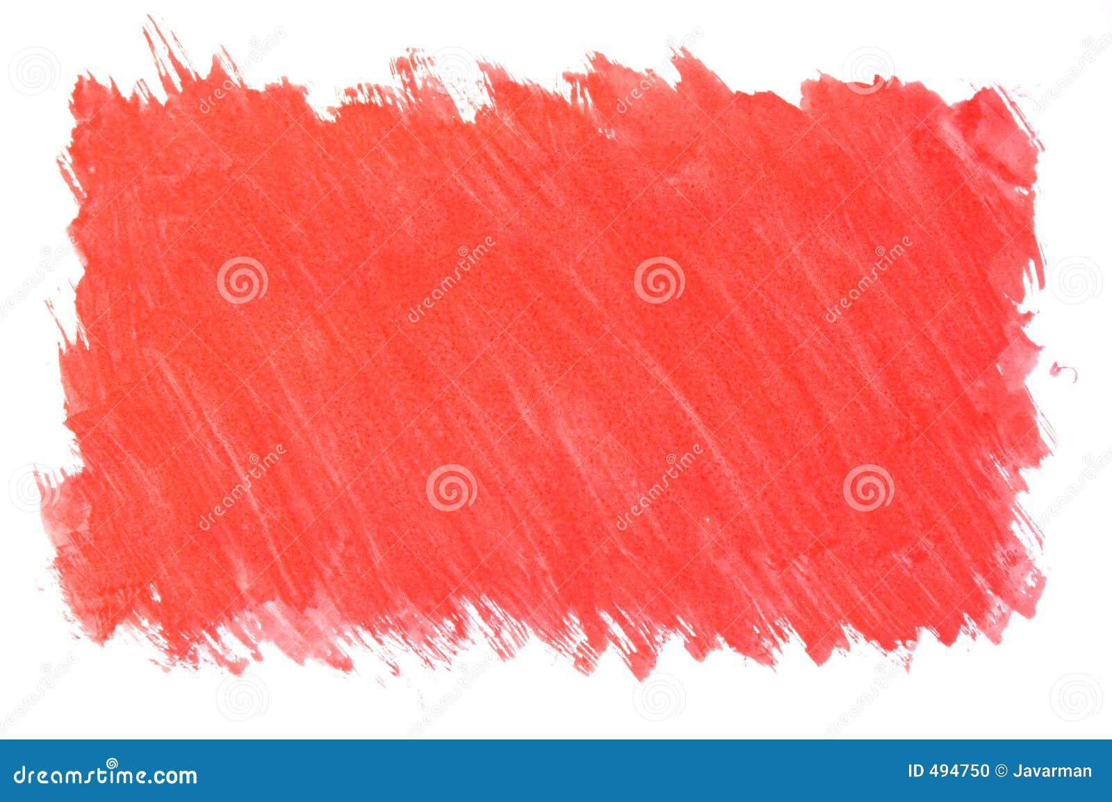 Fundo vermelho pintado