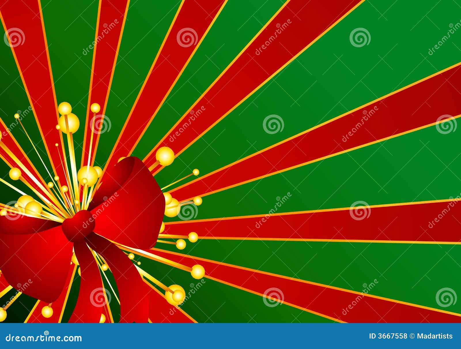 Red and gold christmas decorations wallpaper - Fundo Vermelho Verde Da Curva Do Presente Do Natal Fotos