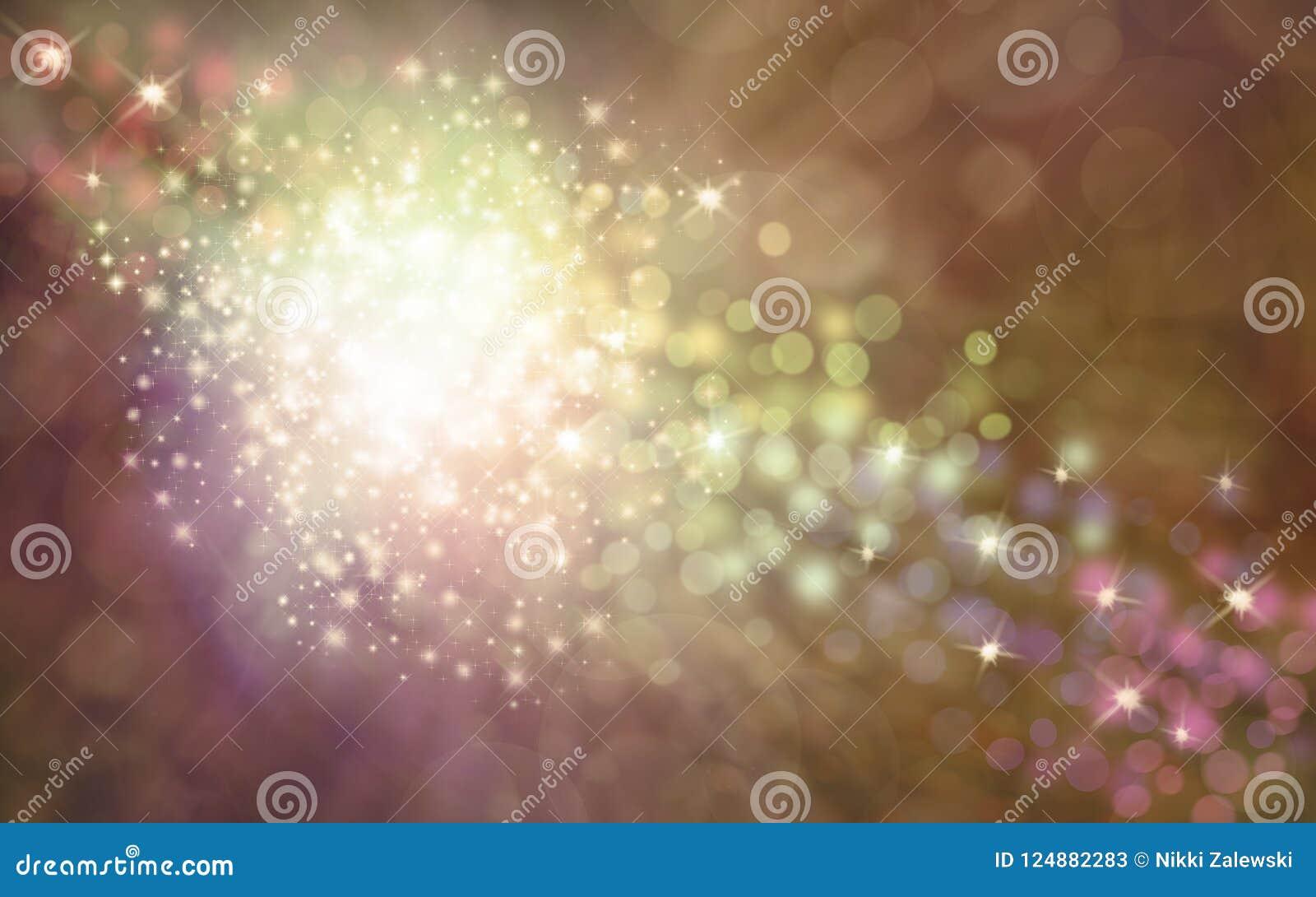 Fundo vislumbrando dourado elegante dos sparkles