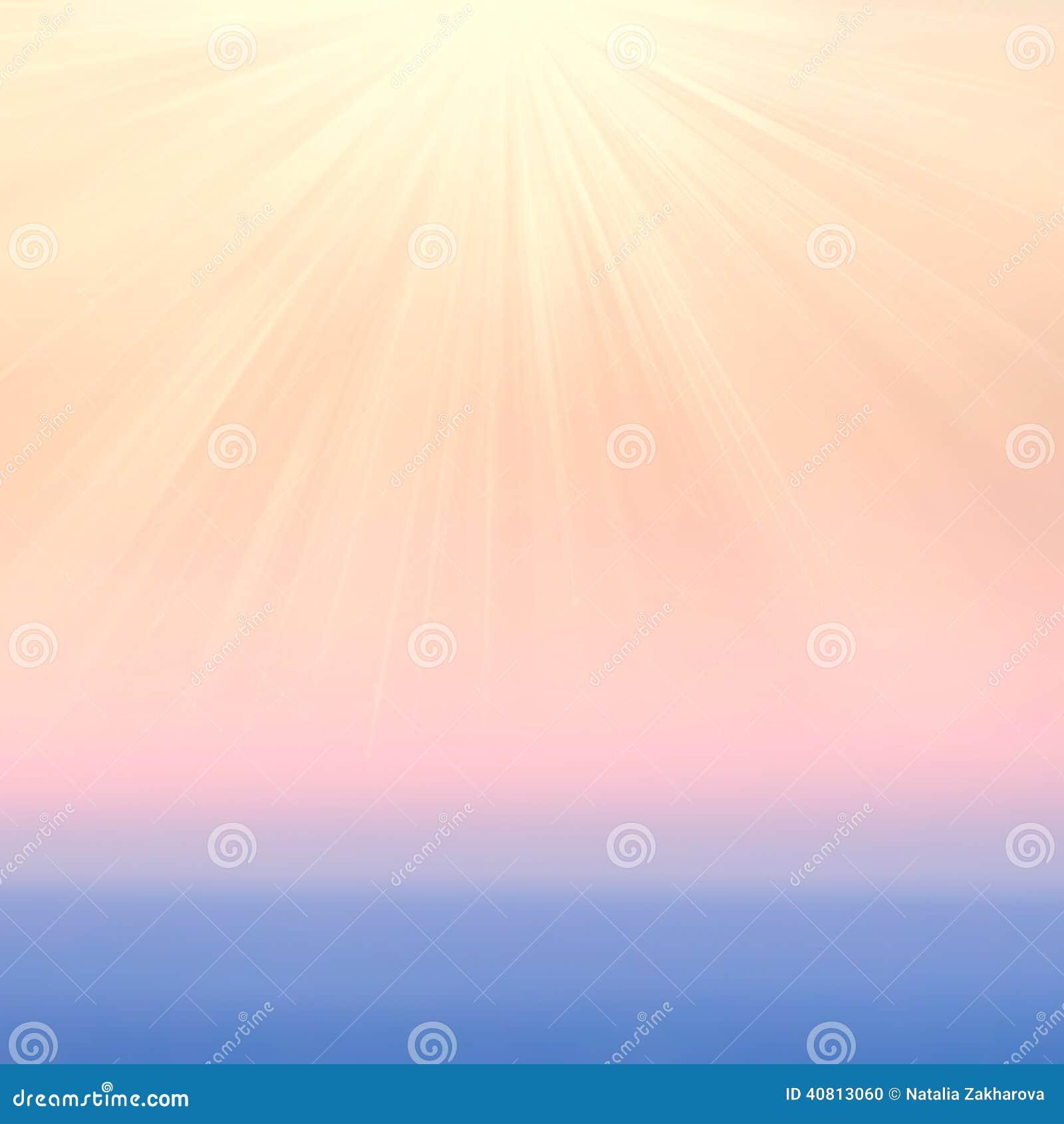 Fundos abstratos obscuros do inclinação com luz solar Alise perto