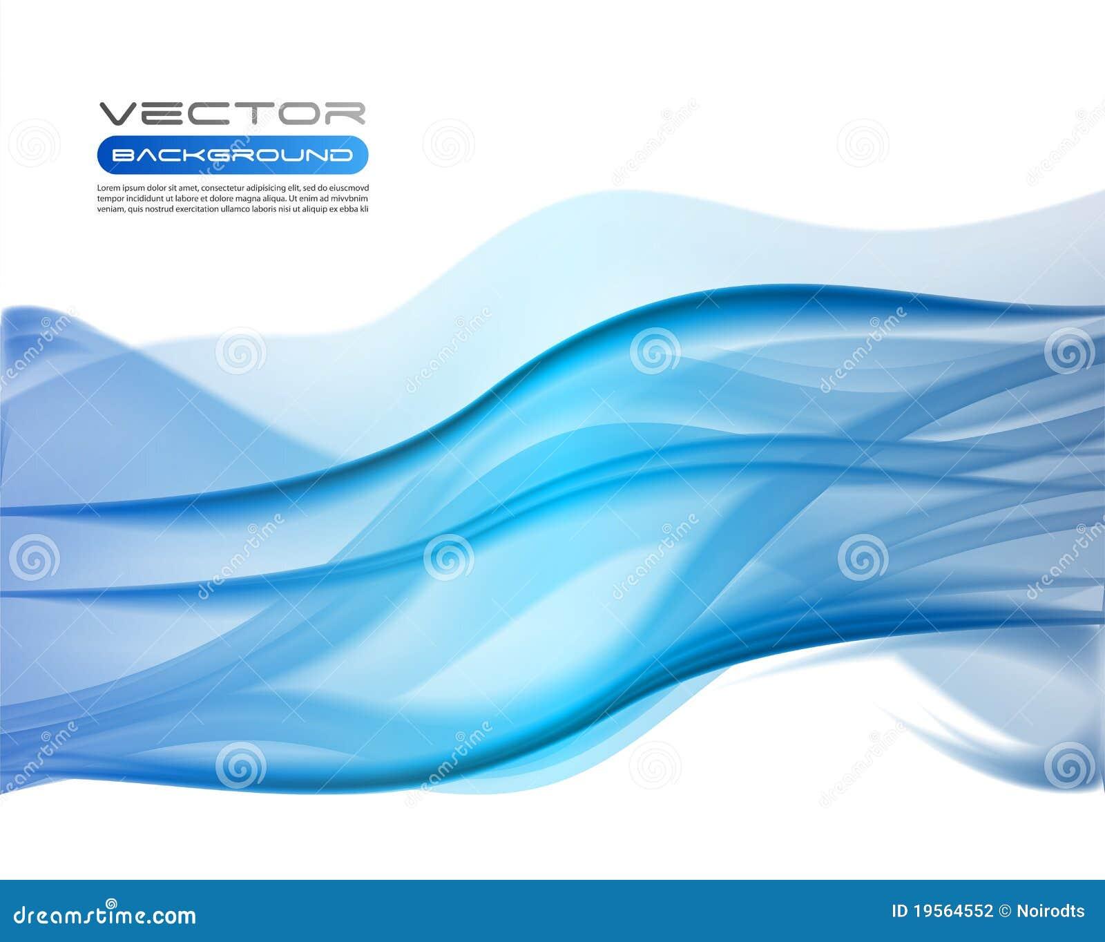Fundos azuis abstratos do negócio