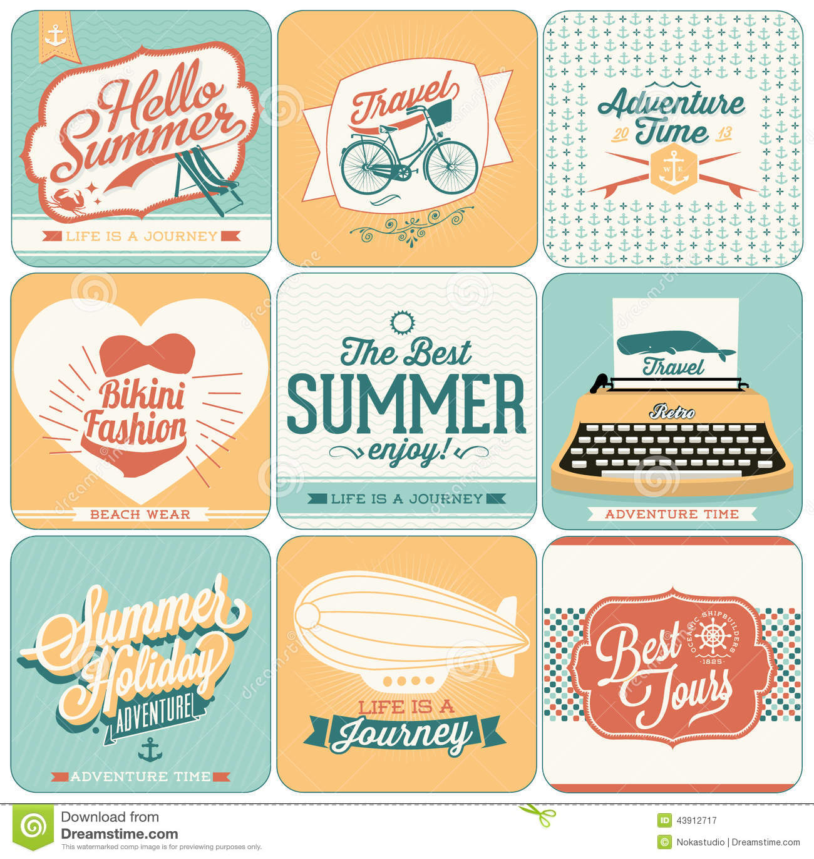Fundos caligráficos dos projetos do verão