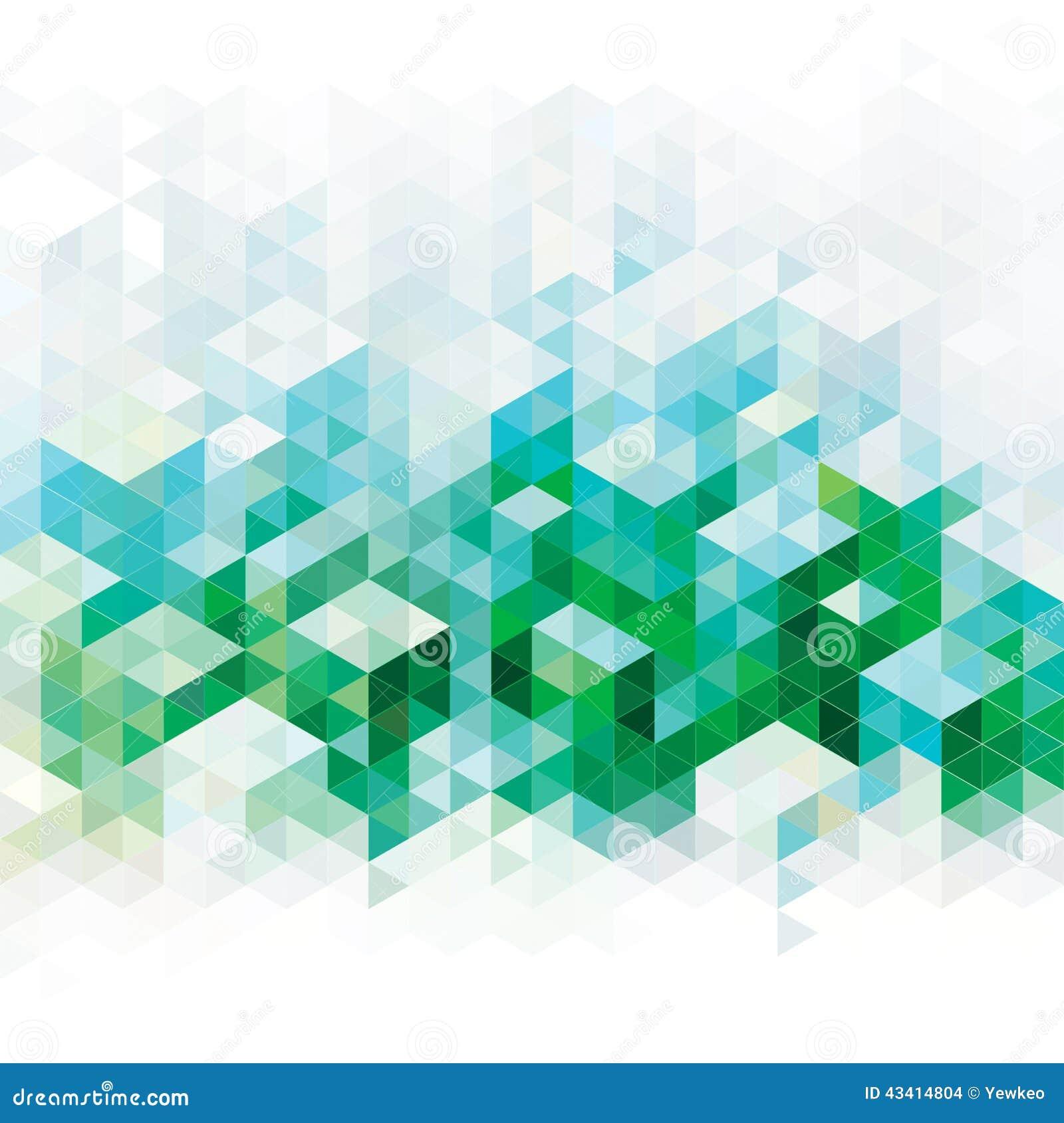 Fundos verdes abstratos