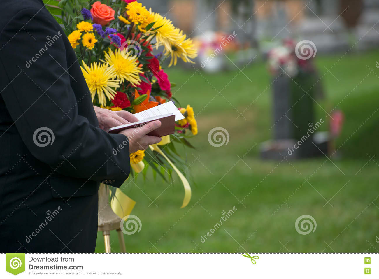 Funeral, Burial Service, Death, Grief