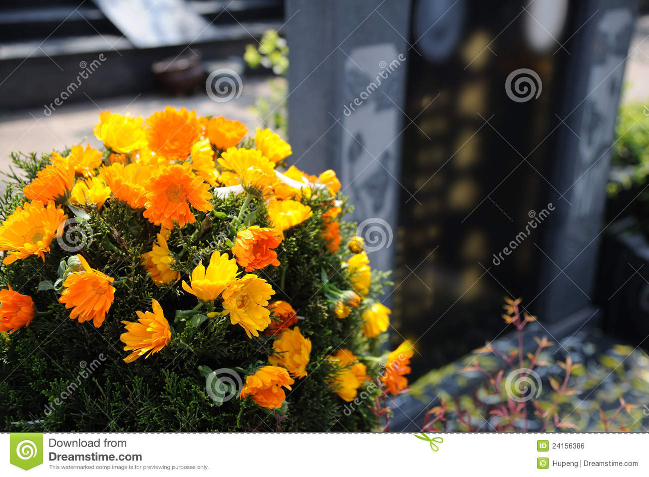 Funeral flowers for condolences stock photo image of beautiful funeral flowers for condolences izmirmasajfo