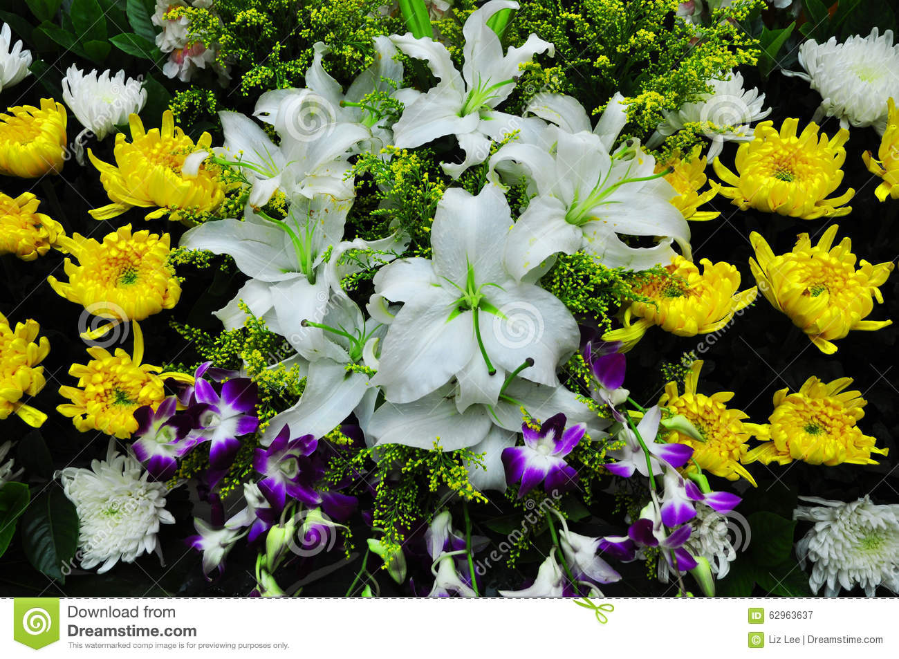 Funeral flowers for condolences stock photo image of eastern funeral flowers for condolences royalty free stock photography izmirmasajfo Image collections