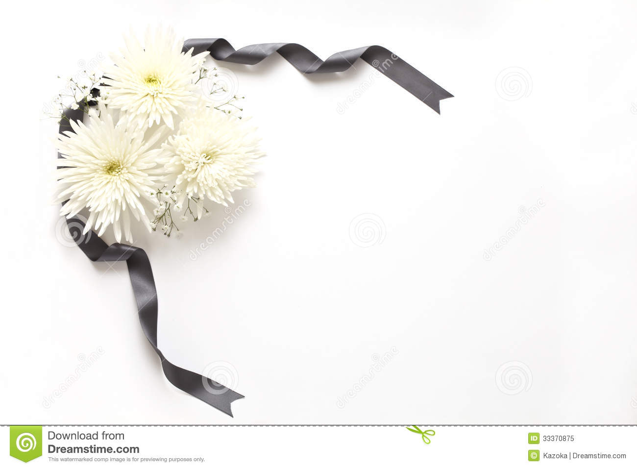 Funeral Flowers Stock Image Image Of Death Blossom 33370875