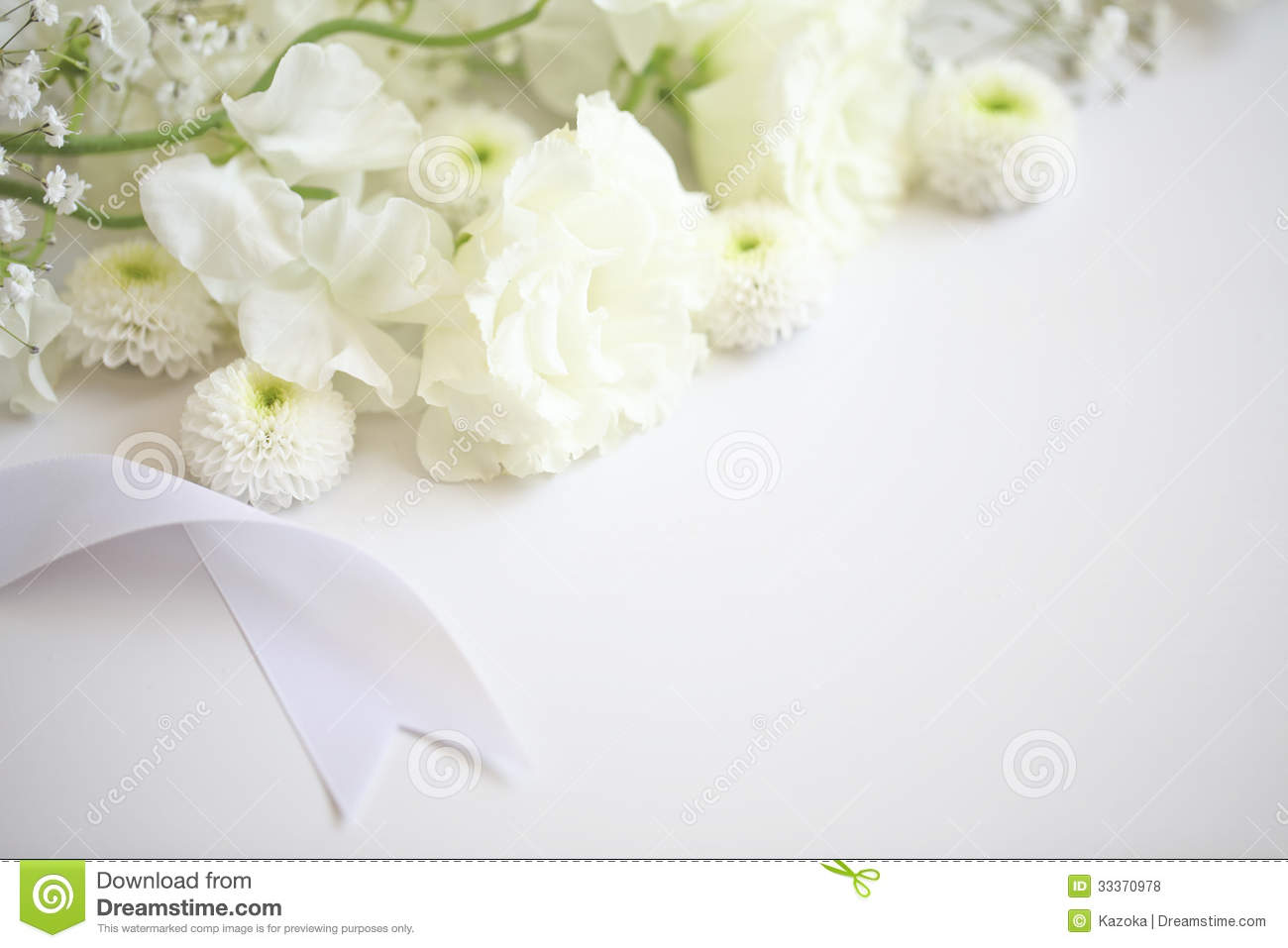 Funeral Flowers Stock Photo Image Of Fragile Leaves 33370978
