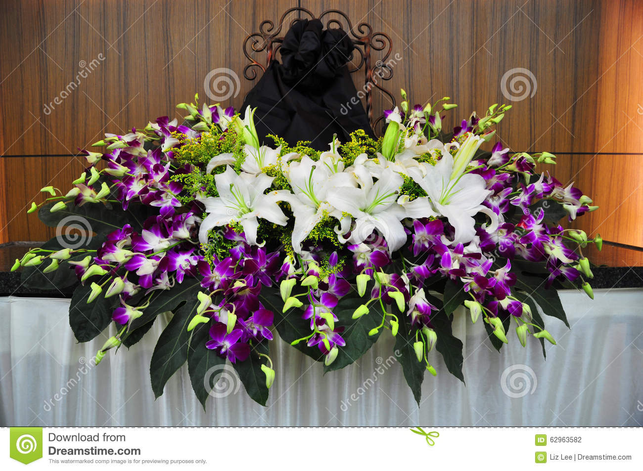Funeral Flowers For Ones Picture Stock Photo Image Of Cemetery
