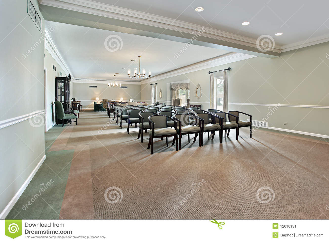 Funeral Home With Couches And Chairs Royalty Free Stock Photo CartoonDealer