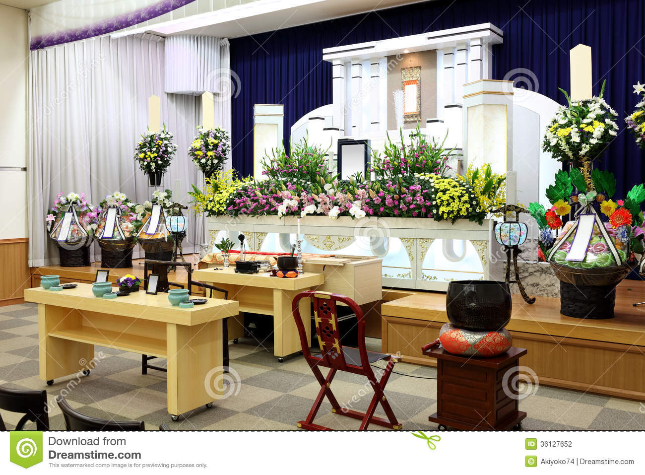 Funeral Home Stock Photography Image 36127652