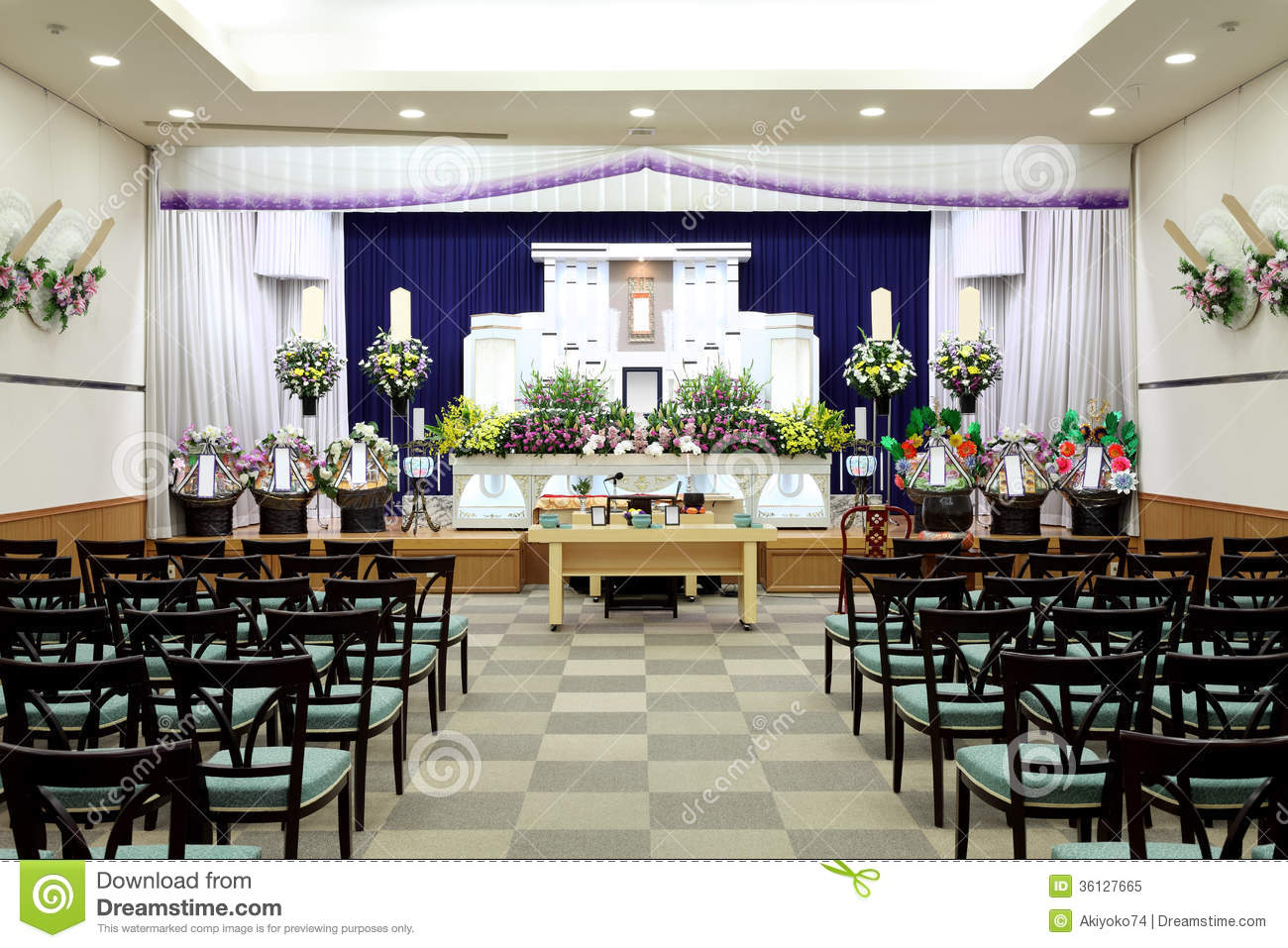 Funeral Home Royalty Free Stock Photo Image 36127665