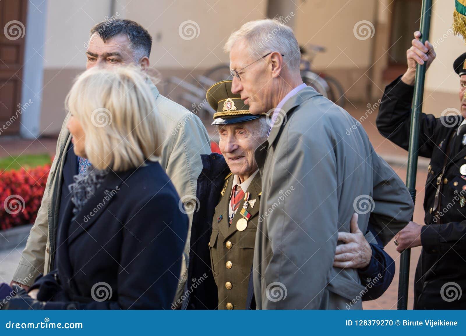 Funerale del generale di brigata Adolfas Ramanauskas-Vanagas in Viln