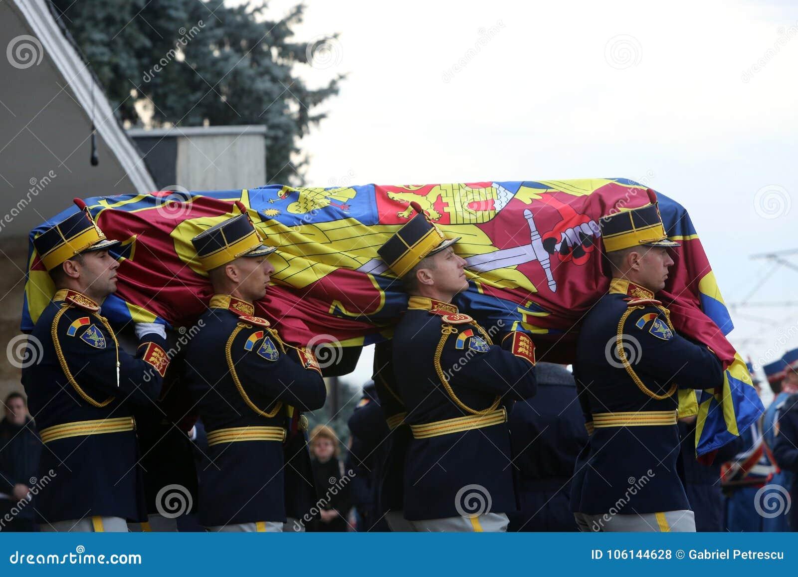 Funerale di re Michael del ` s della Romania