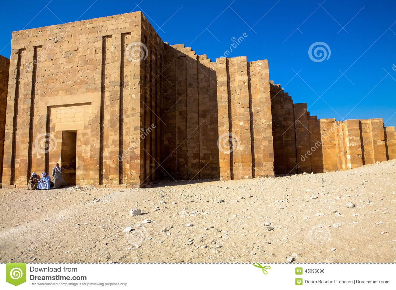 Egypt's 4,600-year-old pyramid of Zoser: a history of cities in 50 buildings, day 1