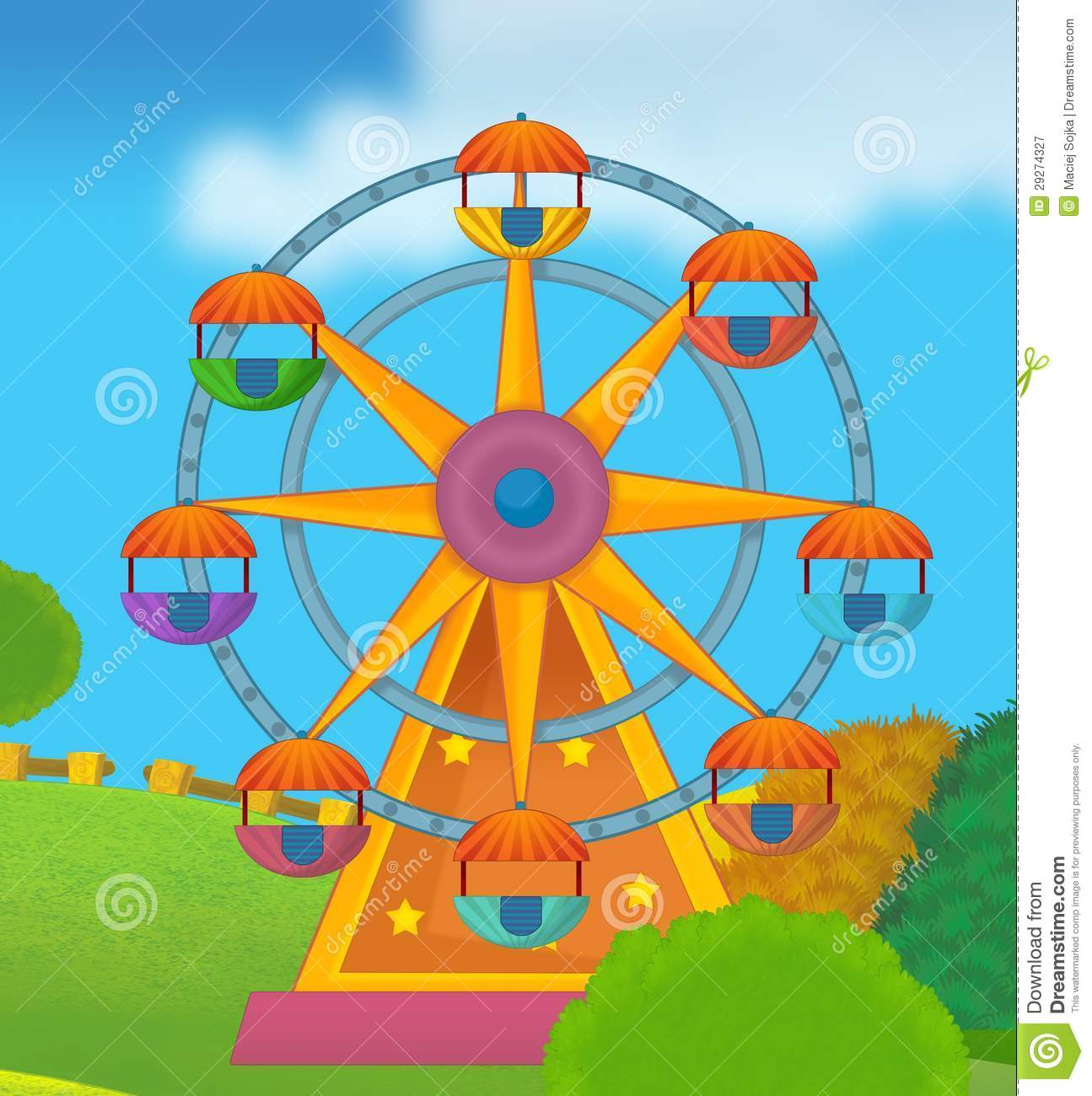 the funfair royalty free stock photography image 29274327