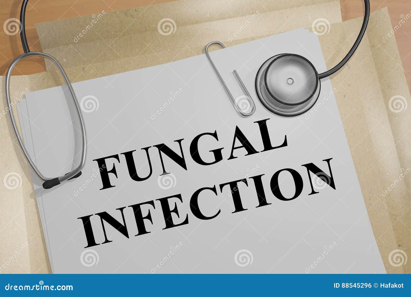 Fungal infekcja - medyczny pojęcie