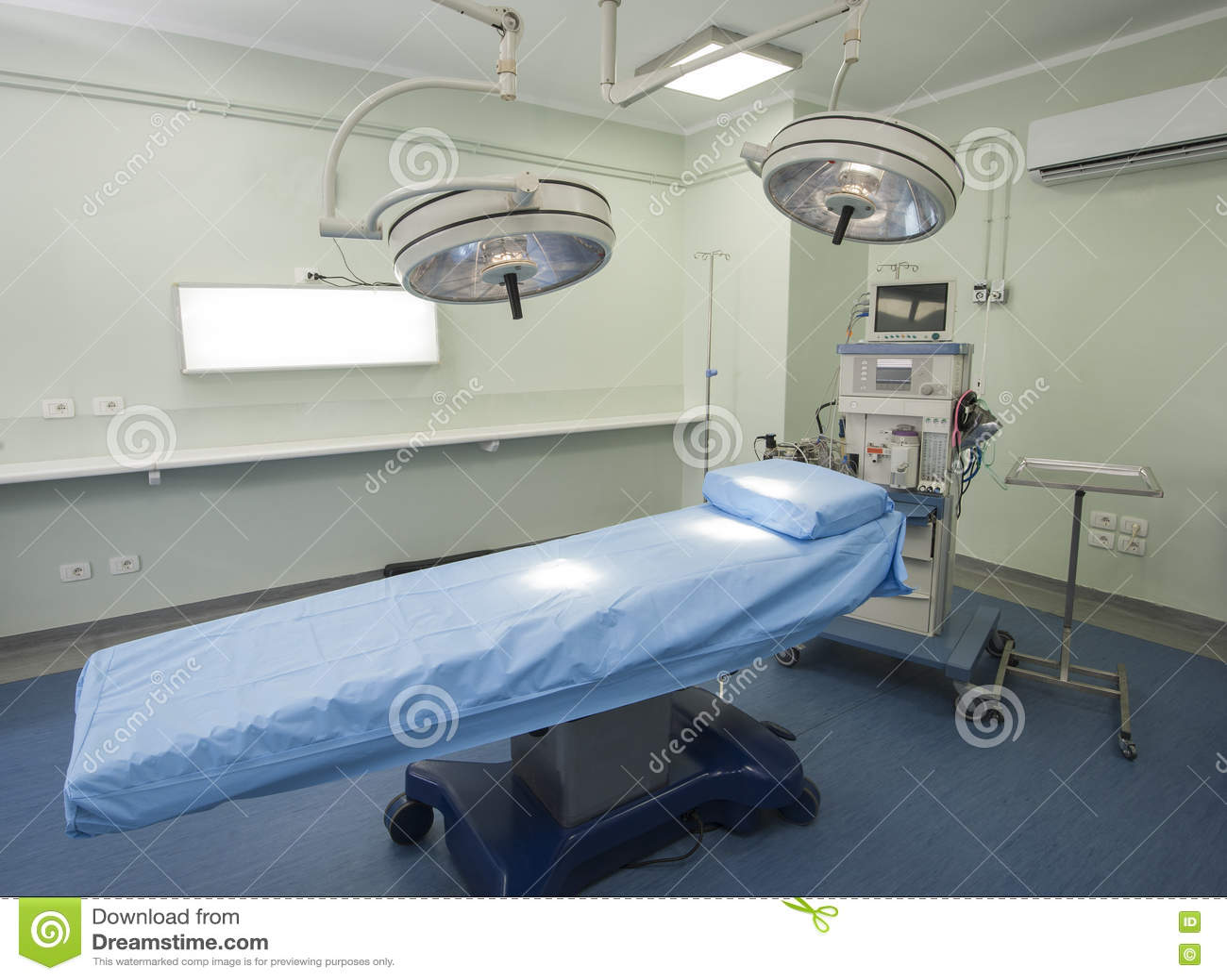 Fungeringsrum i en sjukhusvårdcentral