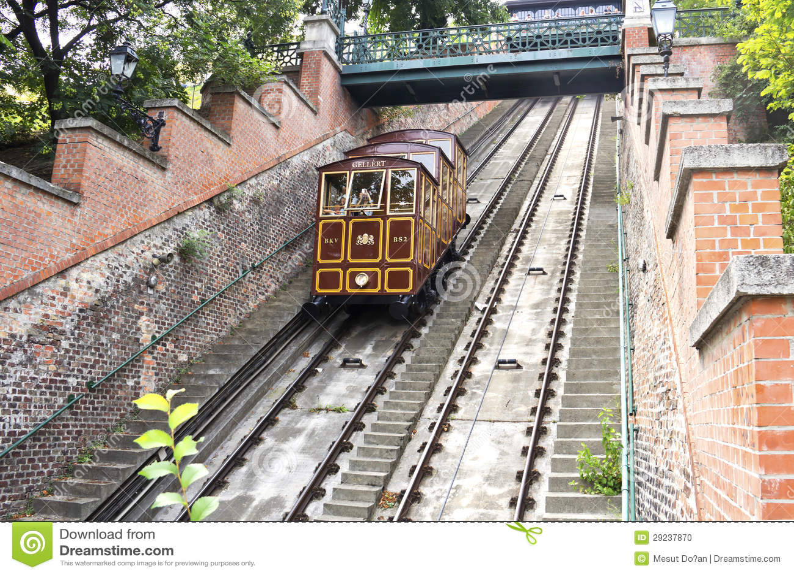 Download Funicular foto de stock. Imagem de arquitetura, monte - 29237870