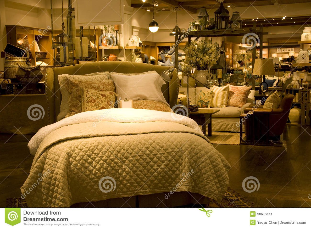 Funiture and home decor store stock image image 30676111 for How to sell home decor online