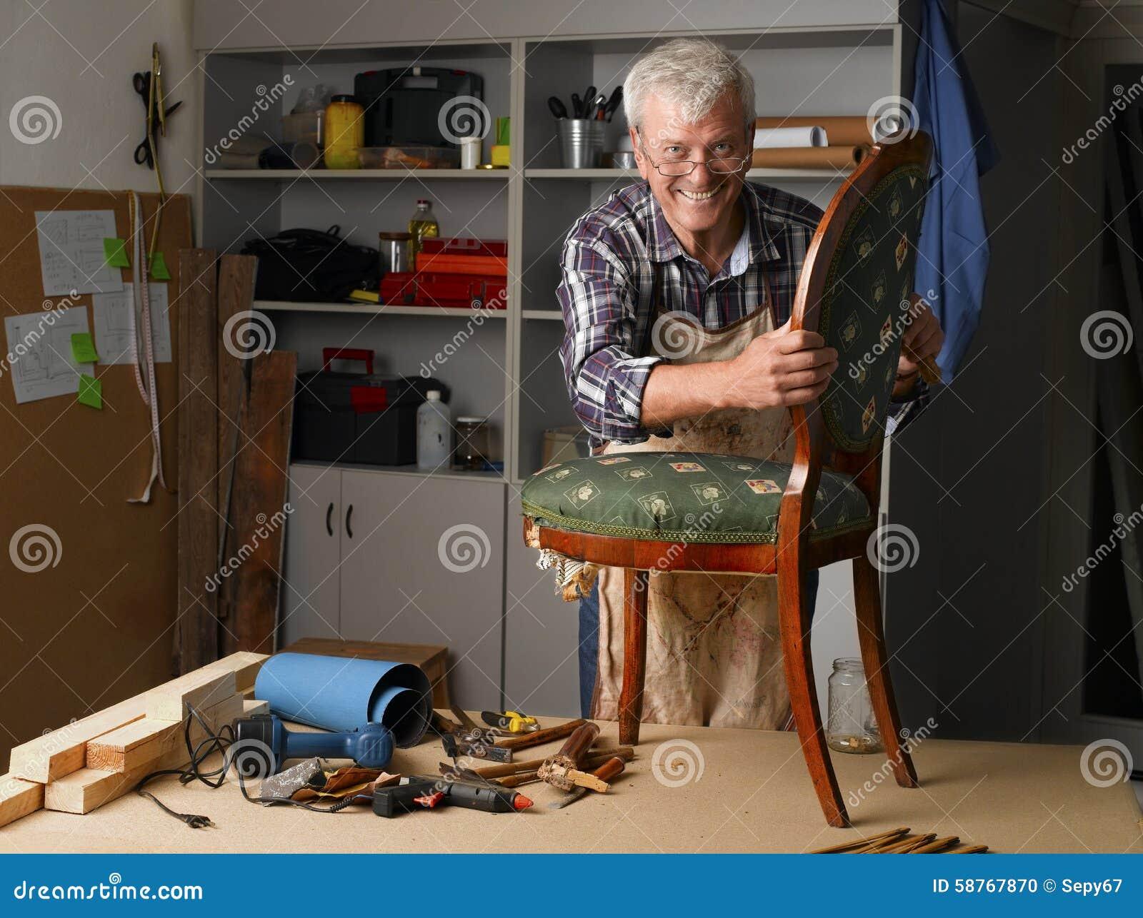 Funktion des älteren Mannes