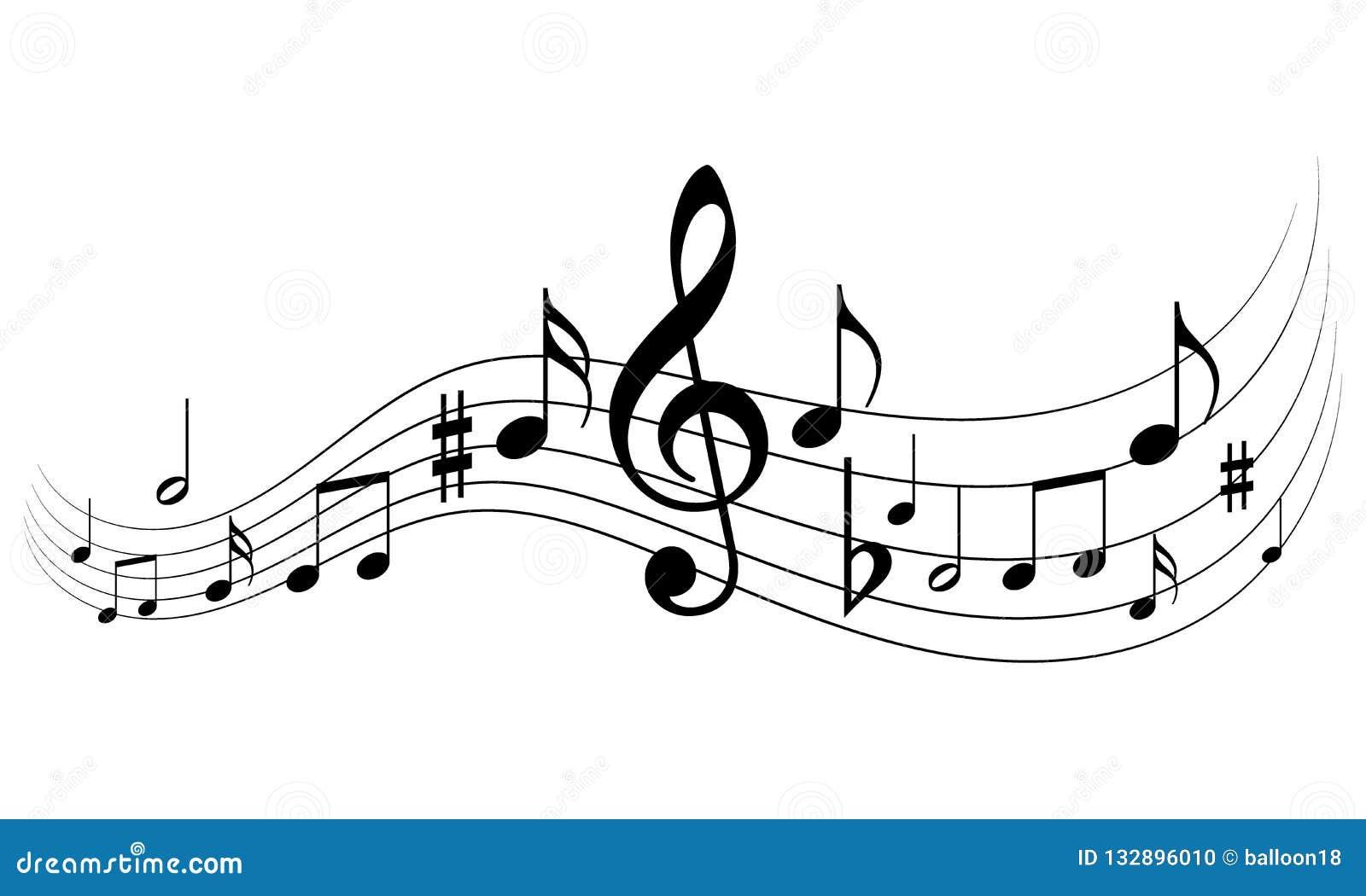 Funky Achtergrond van de Muziek