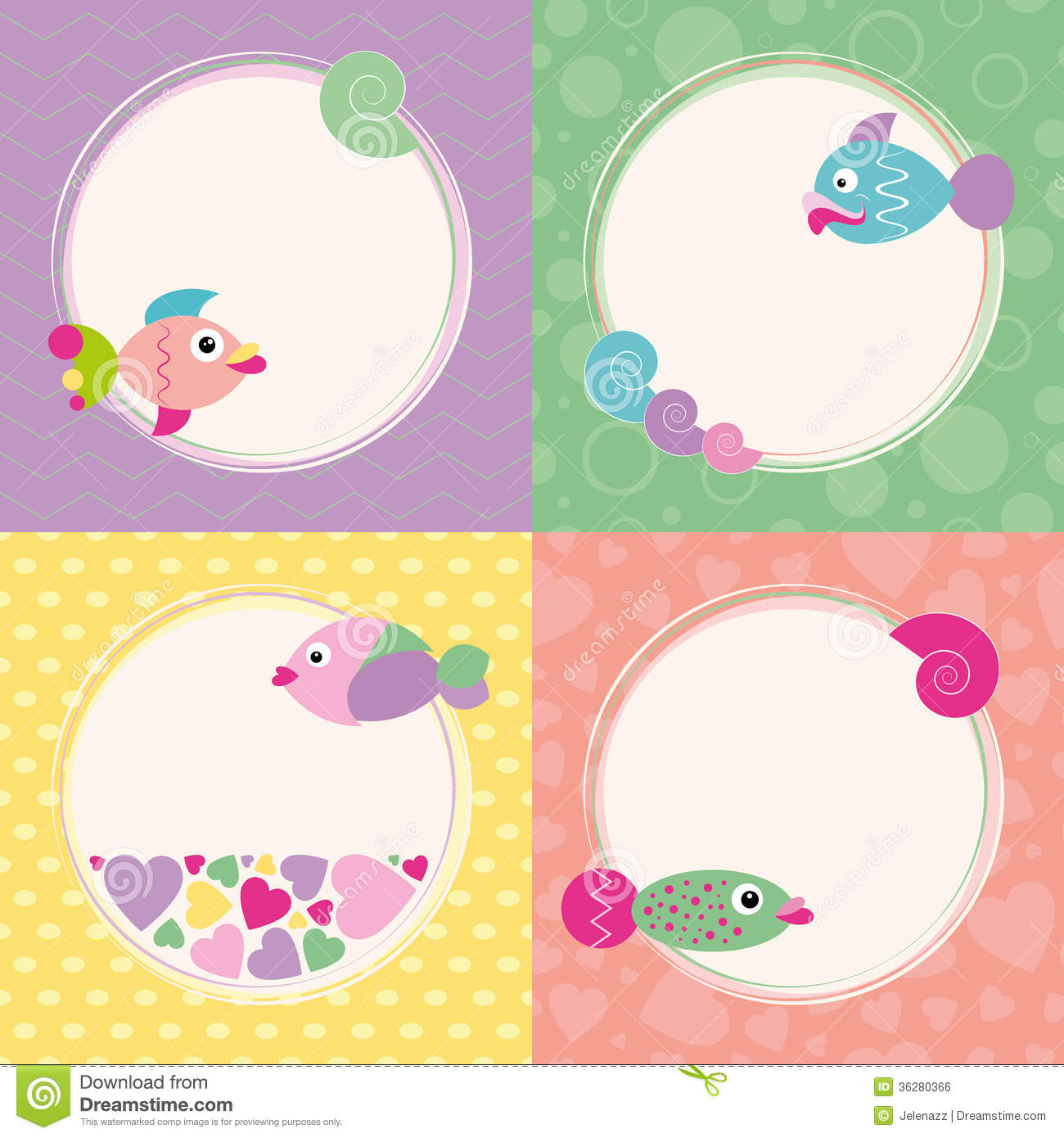 Happy Birthday Cards Fish Illustration Image 41963016 – Fish Birthday Cards