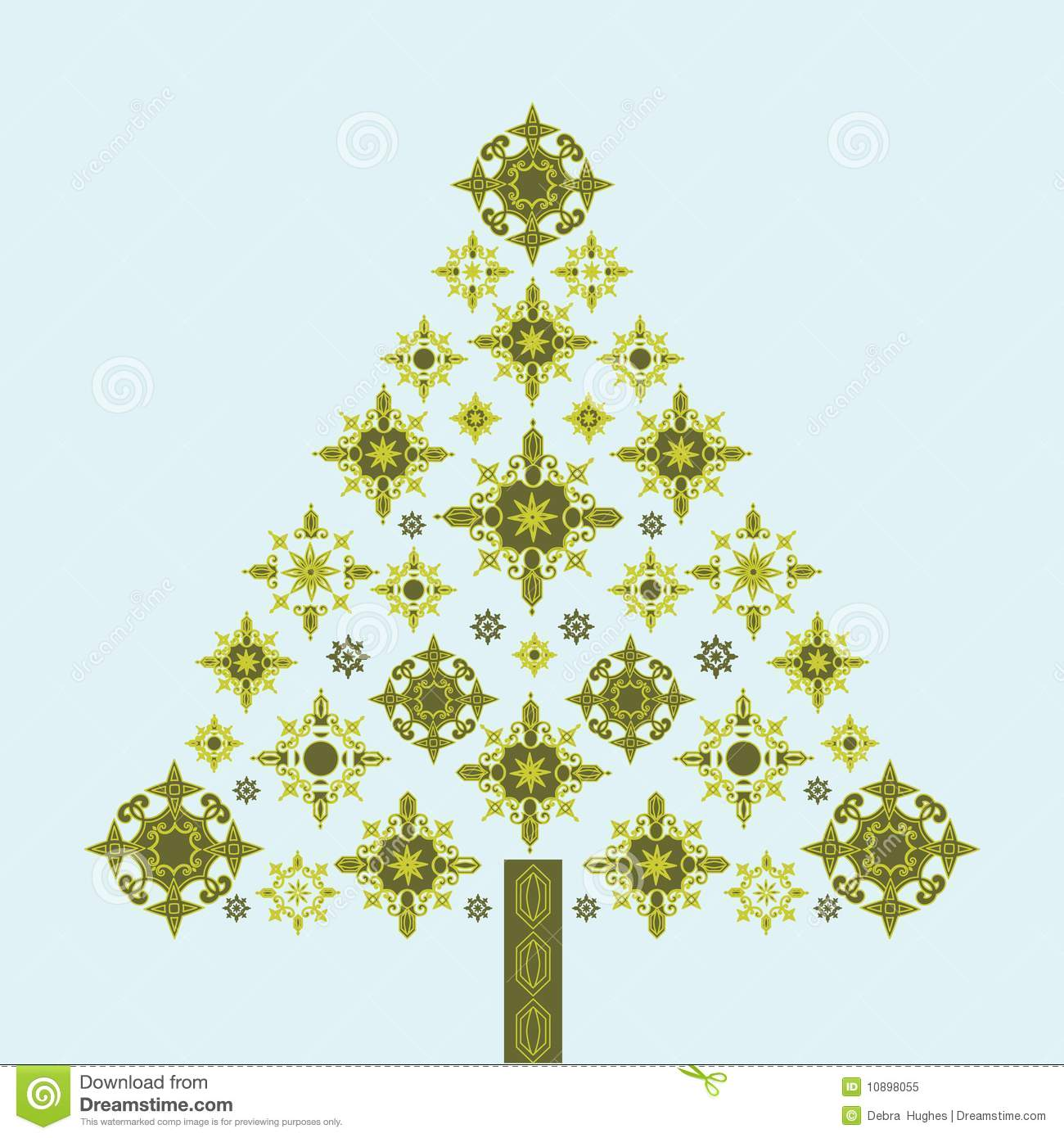 Celtic Christmas Tree Royalty Free Stock Photography - Image: 27827977