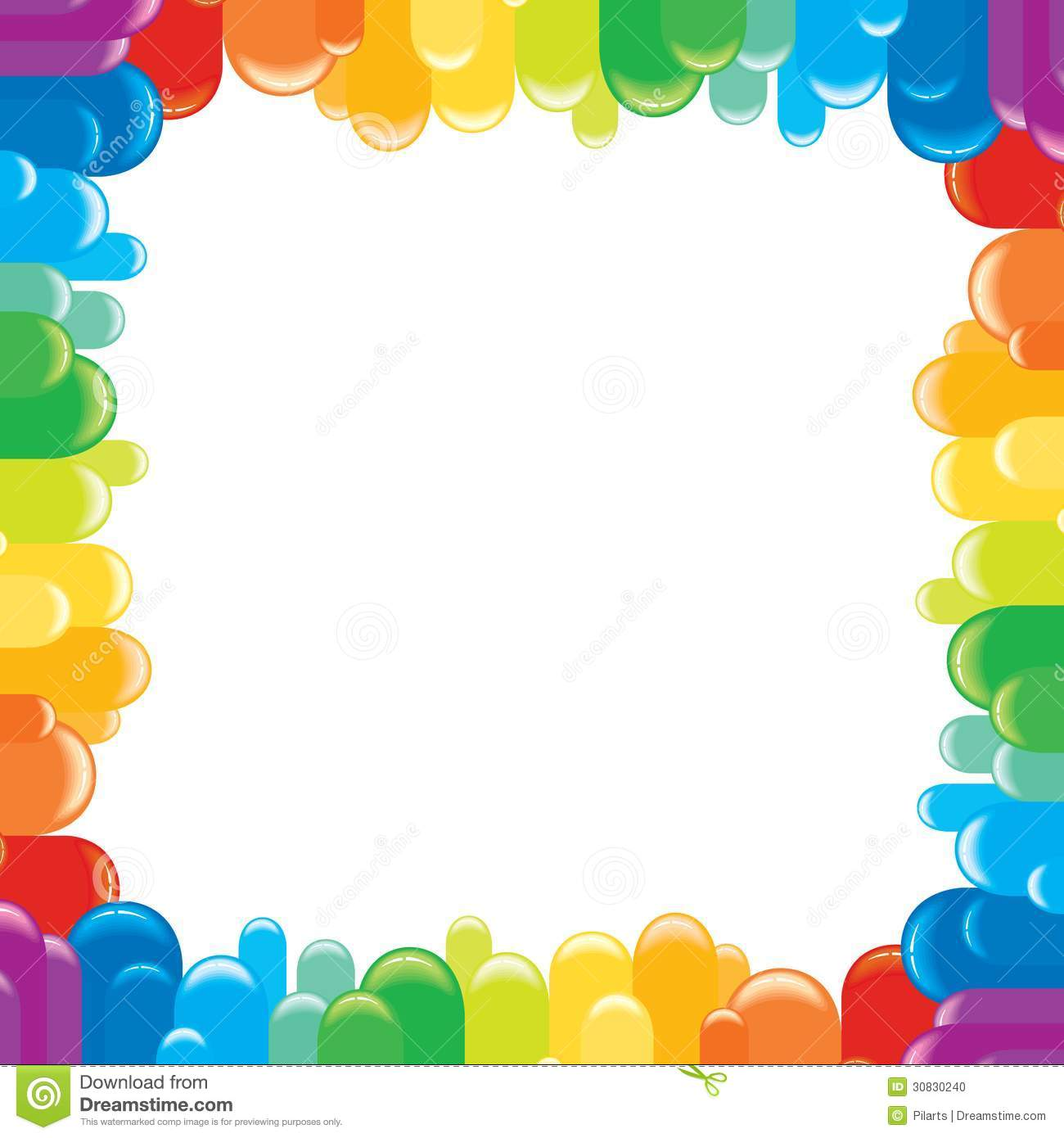 funky colorful frame vector illustration stock photo image 30830240 christmas border clipart black and white christmas borders clip art religious