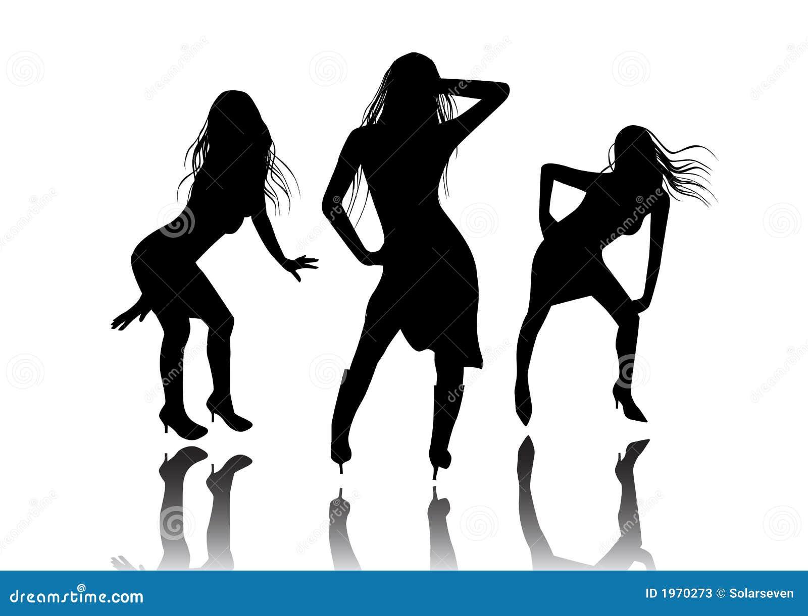 funky dance girls stock photos   image 1970273