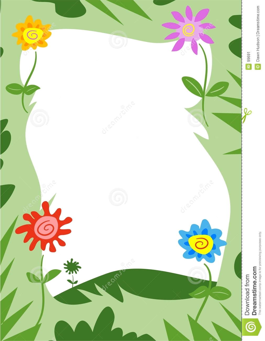 More similar stock images of ` Funky Flowers Frame `