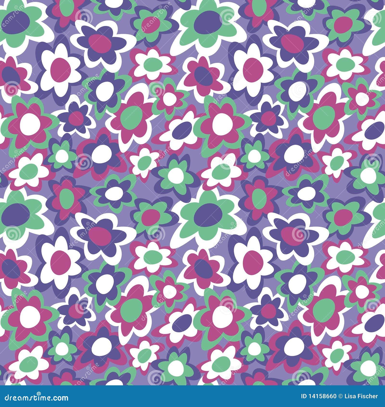 Funky Flowers_Violet
