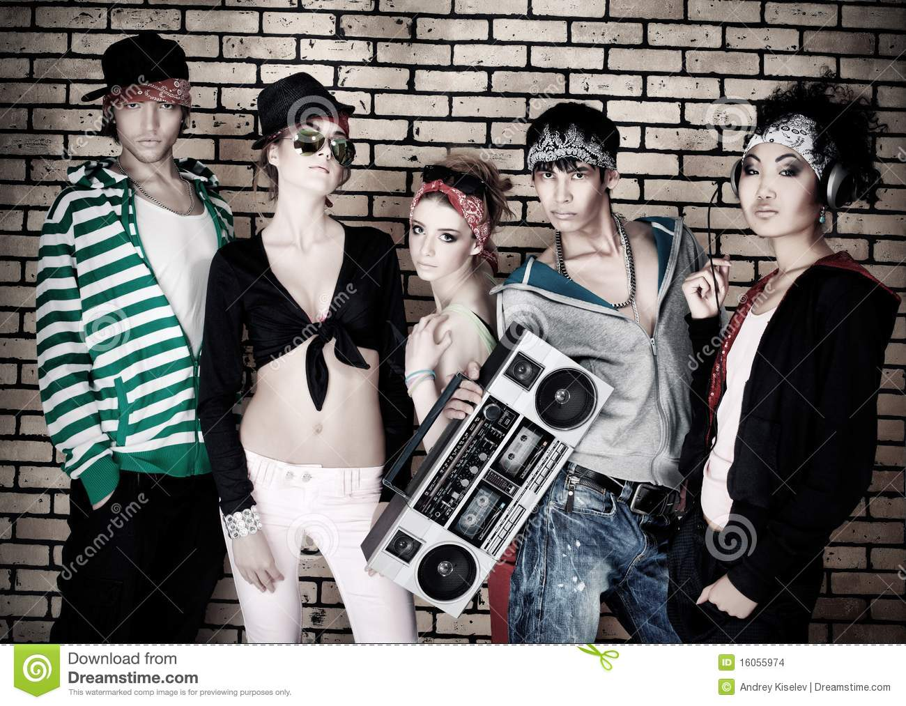Funky People Stock Images Image 16055974