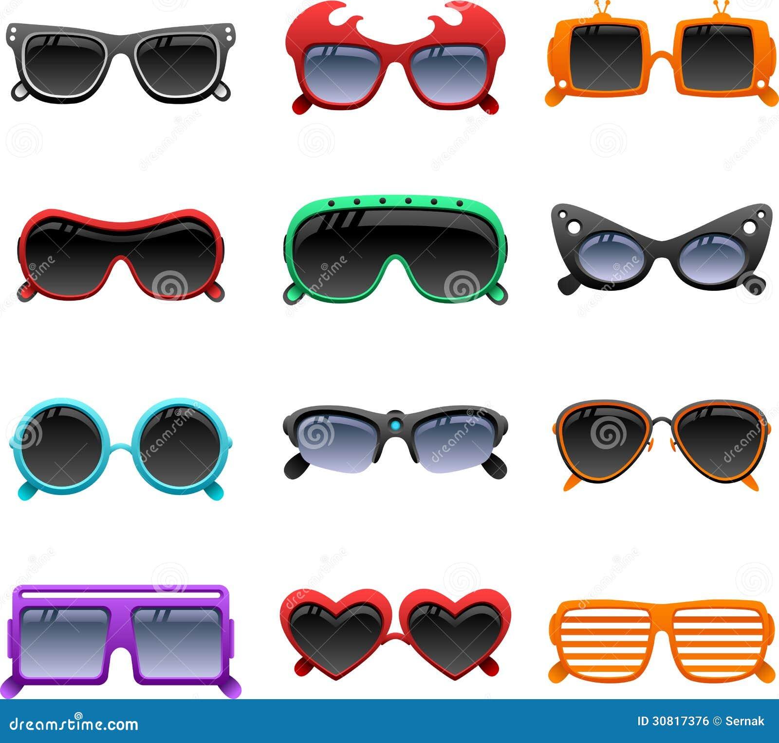 black sunglasses clip art
