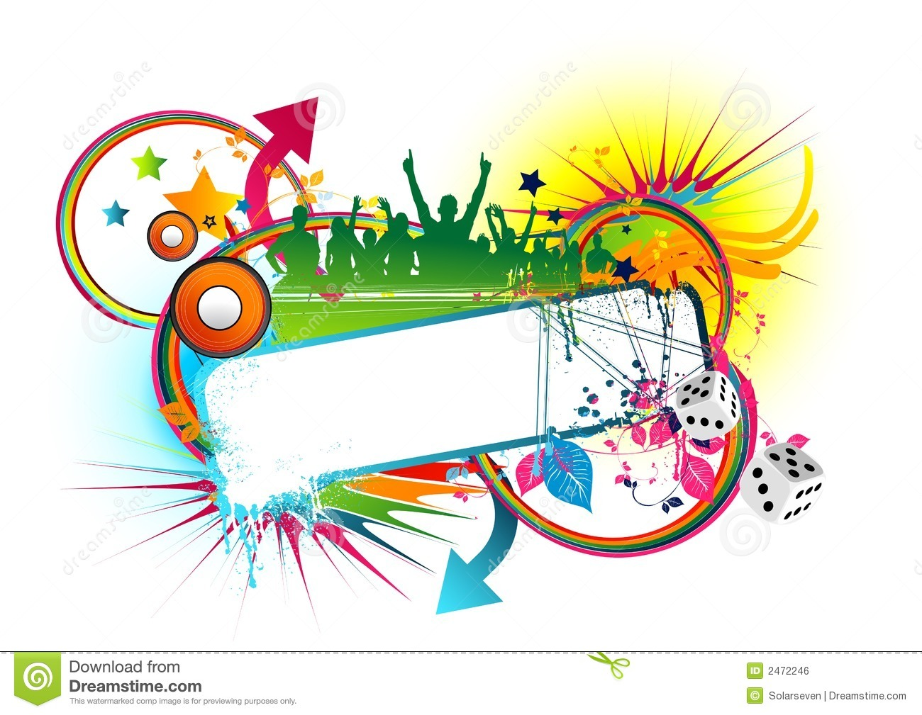 Funky urban frame stock illustration illustration of abstract royalty free stock photo voltagebd Images
