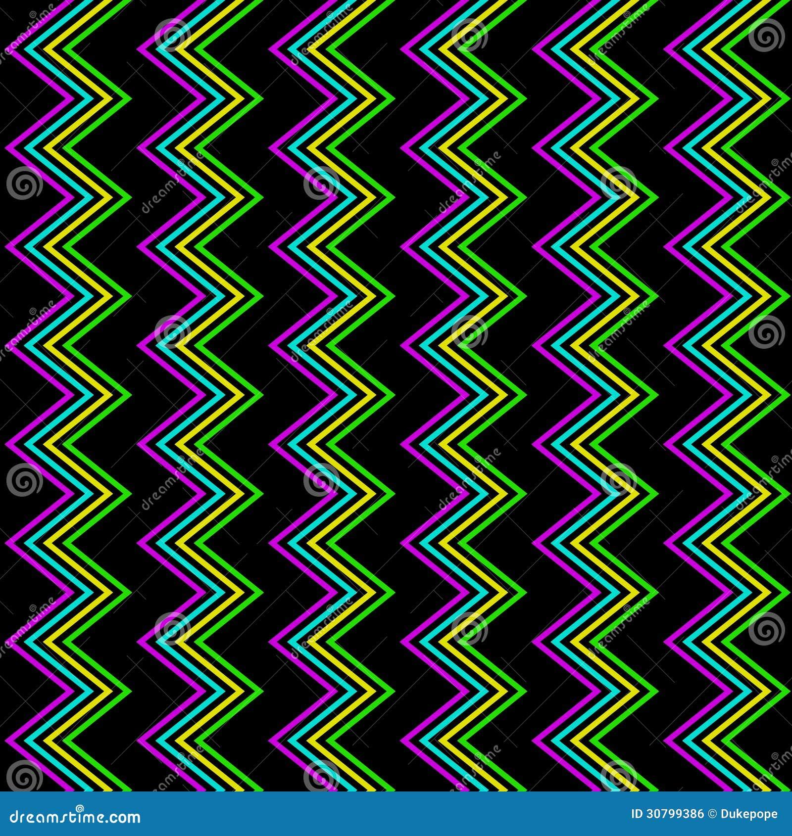 funky zig zag pattern stock vector image of fashion 30799386. Black Bedroom Furniture Sets. Home Design Ideas
