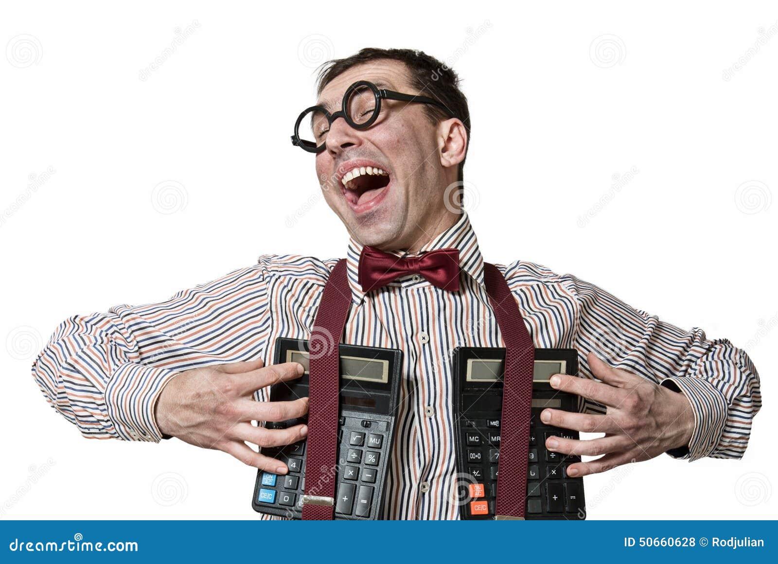 Funny accountant stock photo. Image of expressive, balance ...