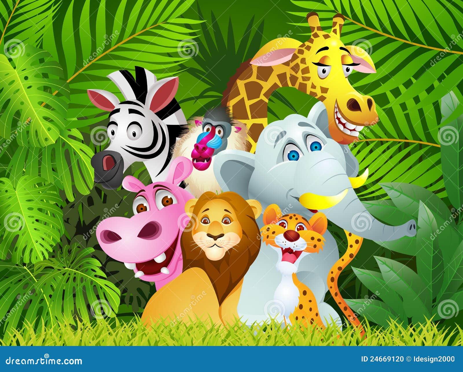 Stock Photo: Funny Animal cartoon. Image: