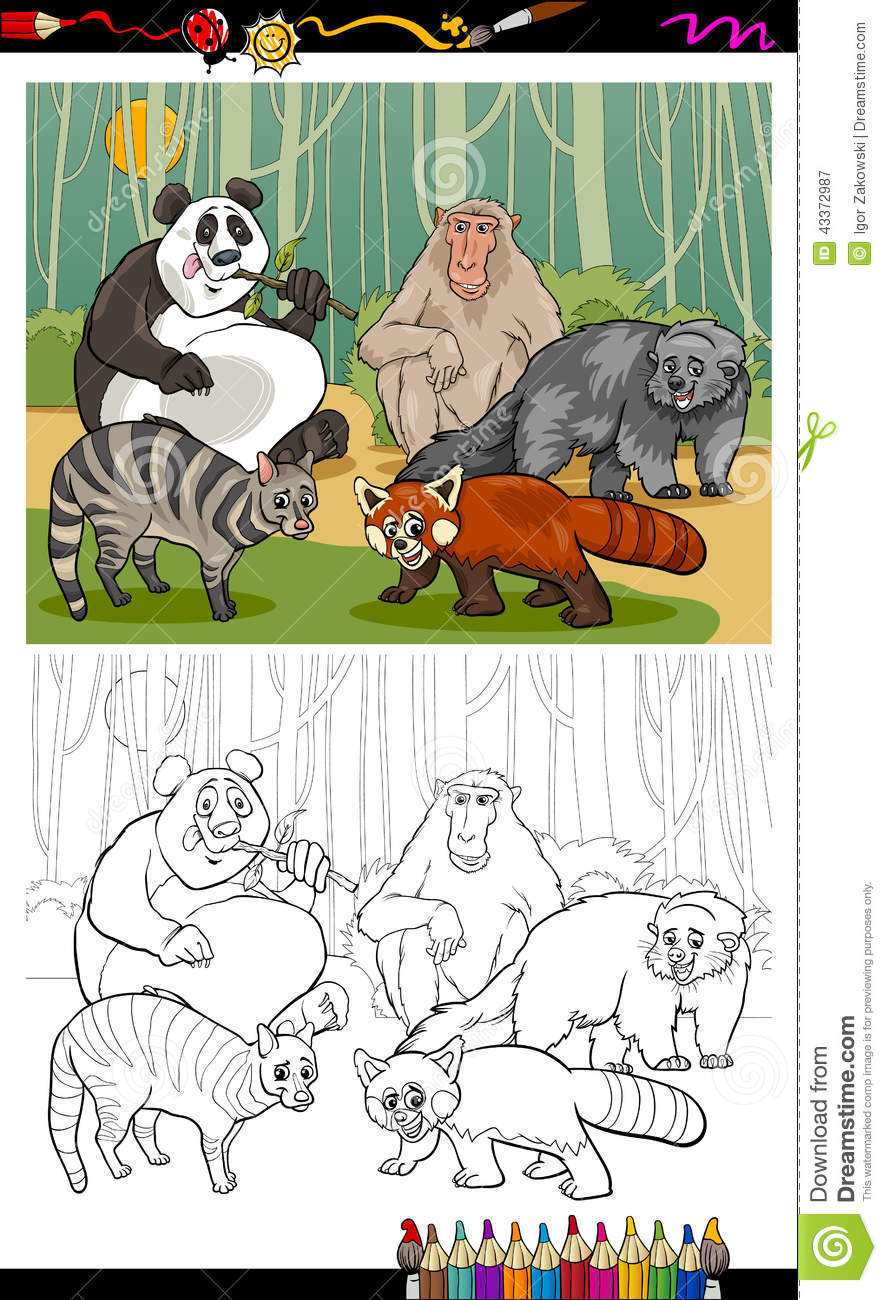 binturong cartoons illustrations vector stock images 9 pictures to download from. Black Bedroom Furniture Sets. Home Design Ideas