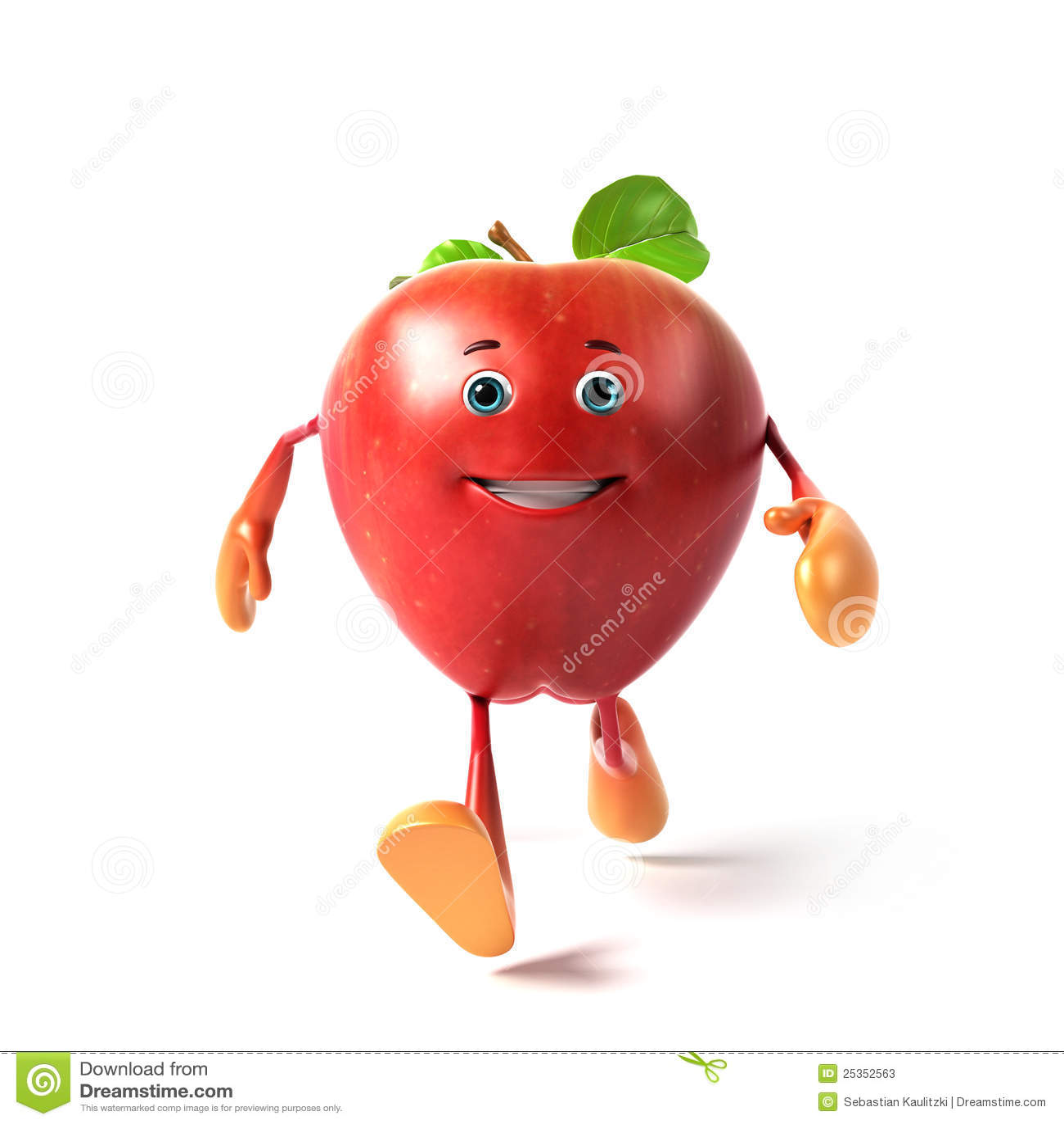 Funny Apple Stock Photos - Image: 25352563