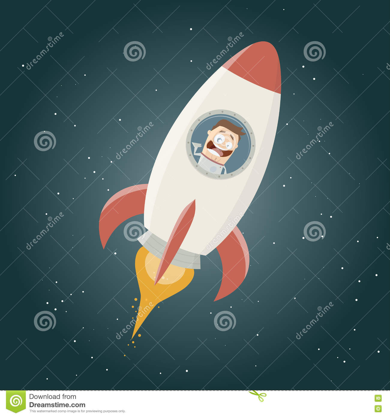 astronaut in space rocket - photo #36