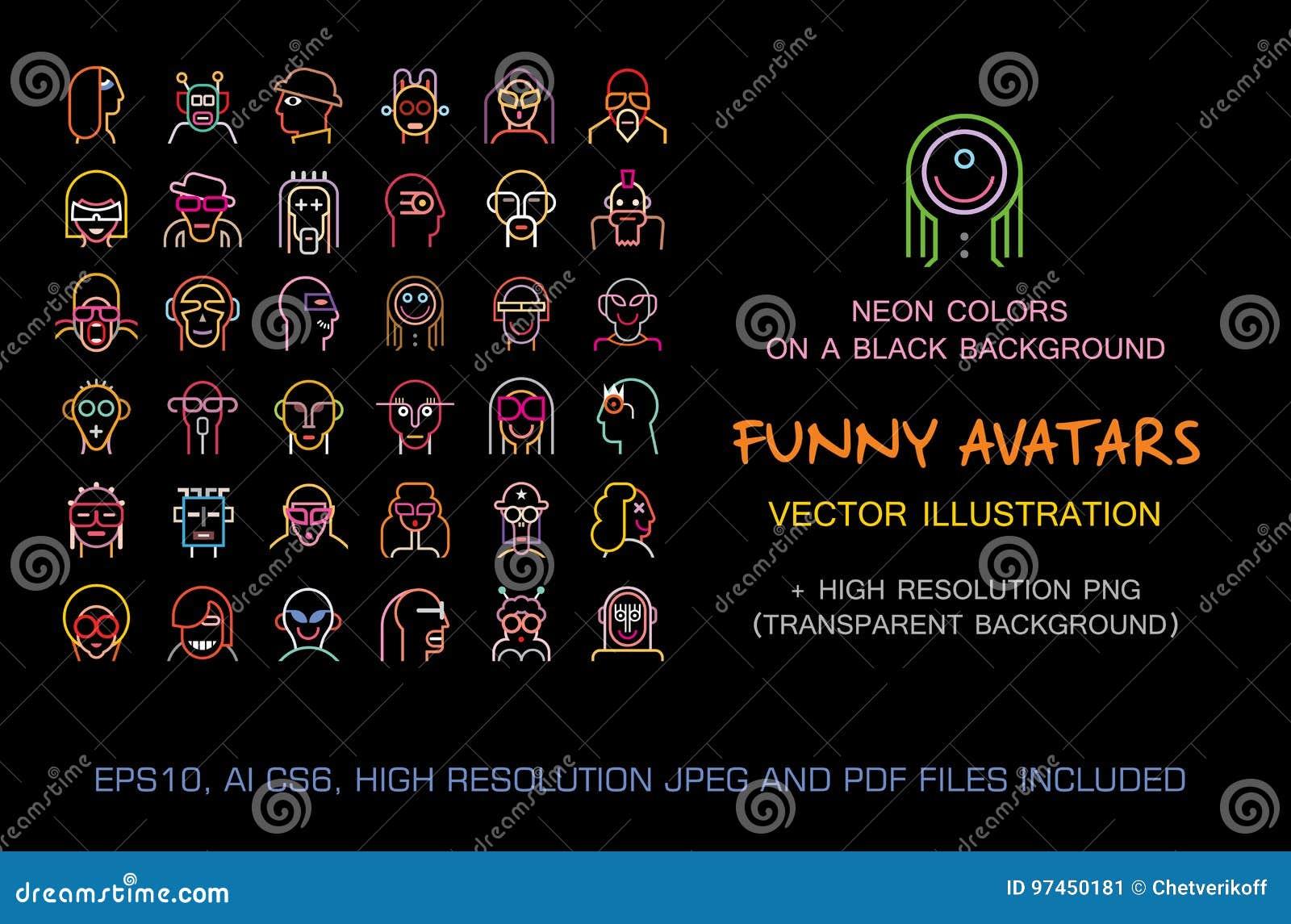 Funny avatars