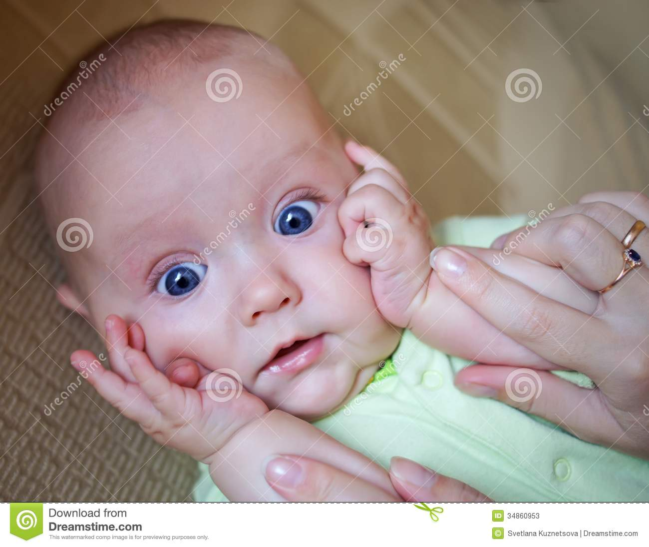Funny Baby Boy Stock Photos - Image: 34860953