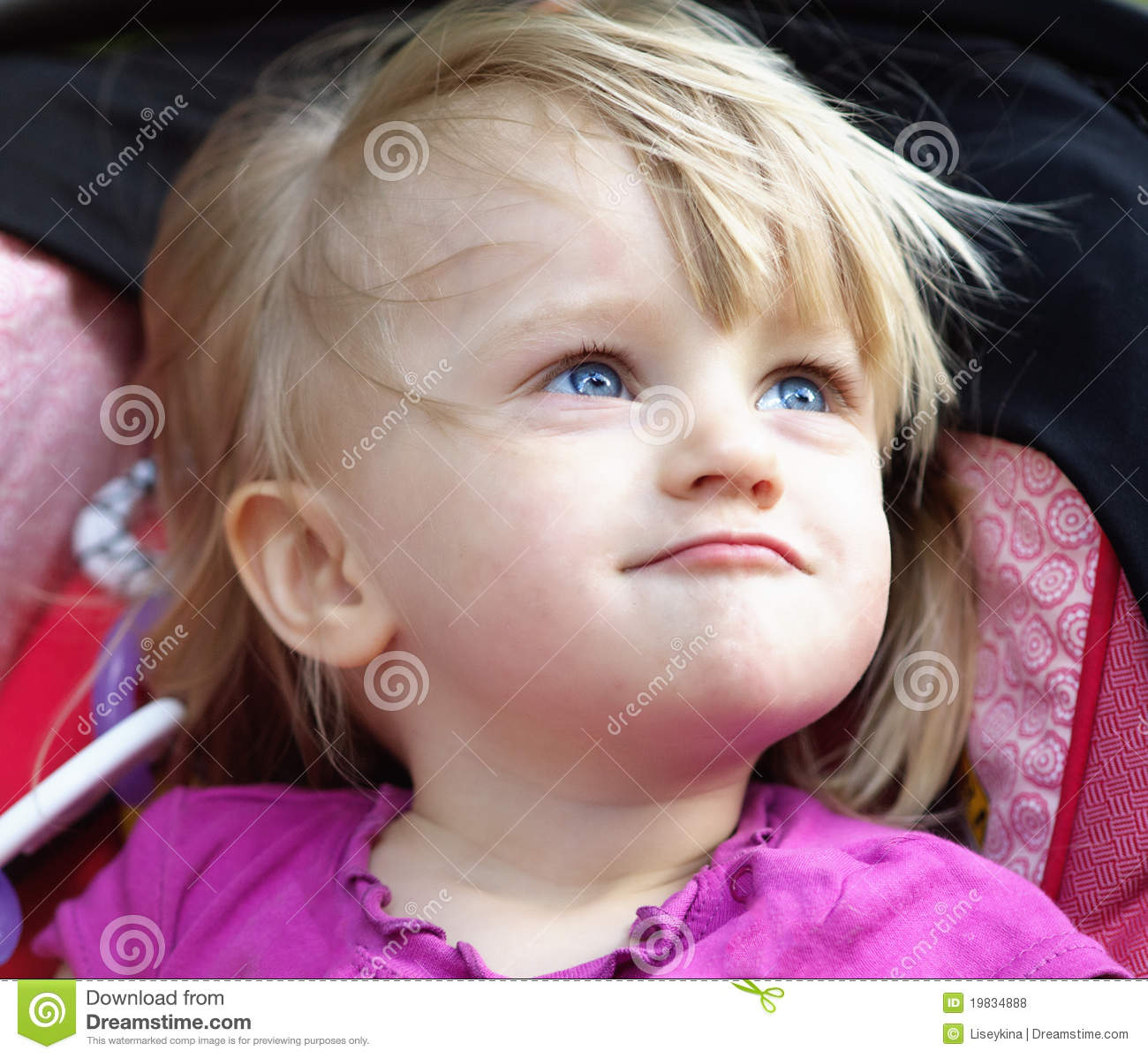 Funny Baby Girl Royalty Free Stock Photos - Image: 19834888