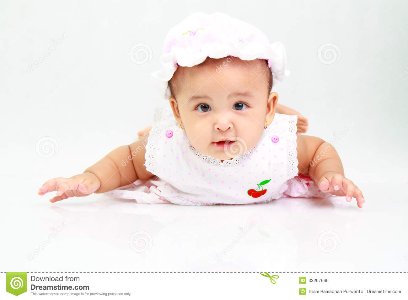 funny baby girl stock photo image of cute face young